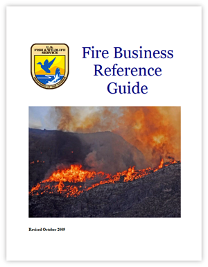 U.S. Fish & Wildlife Service Fire Business Reference Guide