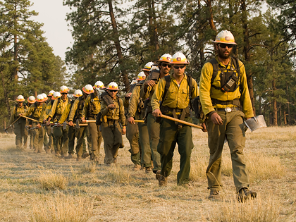 Wildland firefighting leadership development