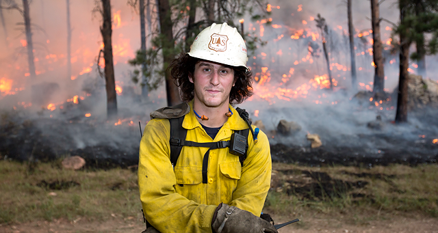 How To Be A Wildland Firefighter